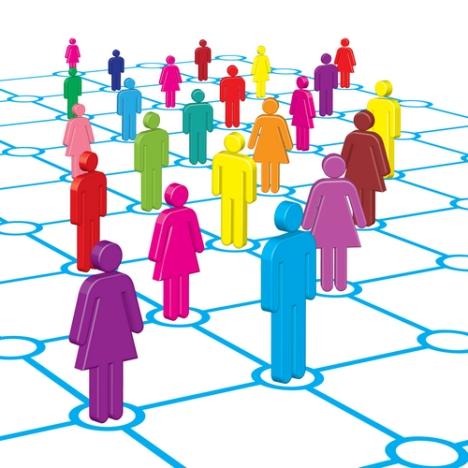 women-social-networking